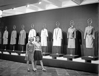 Fragment of the Baltic exhibition 'Light industry' in Vilnius, 1963. Photo: B. Bučelis from the Lithuanian Central State Archives