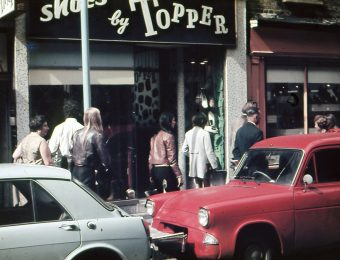 London street scene in 1968. Photo: Tadas Baginskas from his private archive