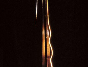 Jüri Kermik, Holy Men of Vilnius, series of lights (brass, oxydized copper, acrylic, optical glass, mirror), 1987