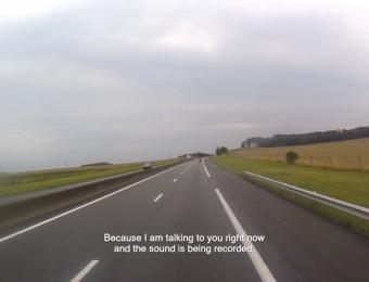 On the Road. Video still. 2015