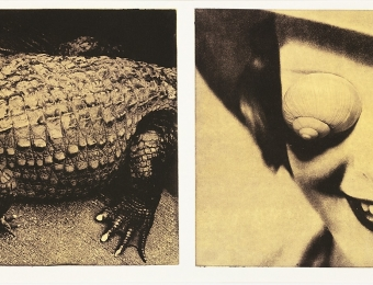 Anita Jensen. Reliable Souvenirs 7. 1997. Photopolymer engraving. Art Museum of Estonia