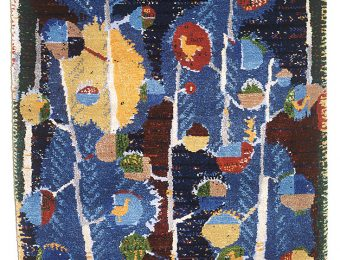 Tapestry by Estonian artist Adamson Eric was awarded the Diplome d'Honneur. Photo: Art Museum of Estonia