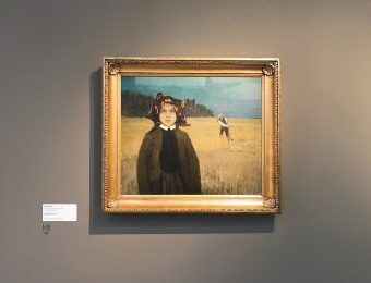 Johann Walter. Young peasant girl (around 1904)