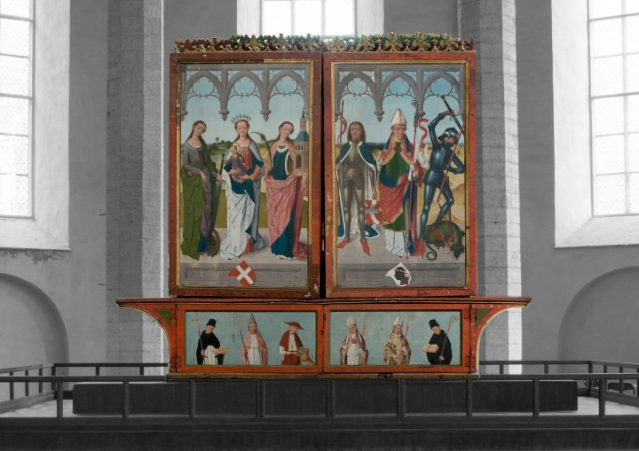 The Rode altarpiece in close-up project