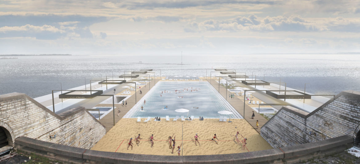 Arhitekt Must. Linnahall Beach in Tallinn. Idea, 2016