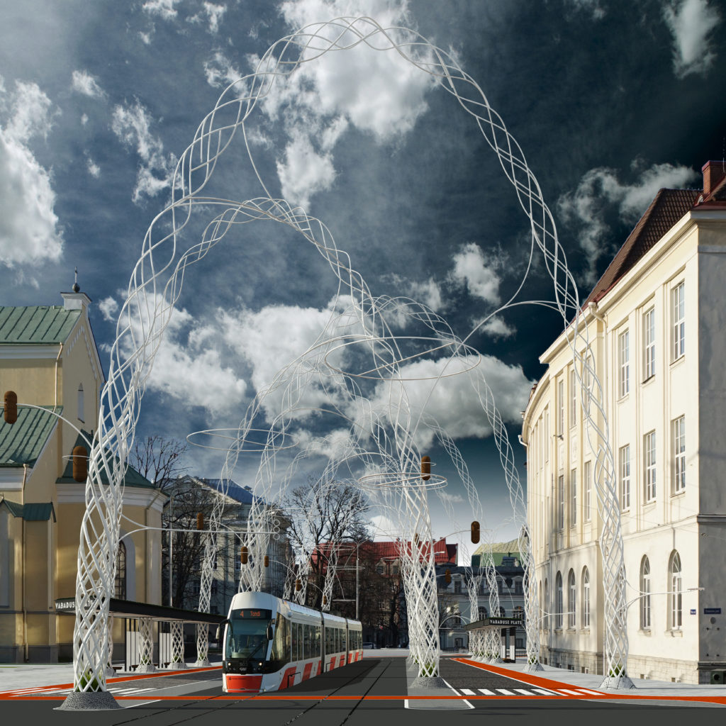 Stuudio Tallinn. Architectural Competition for Main Street, Tallinn. 2nd Place, 2016