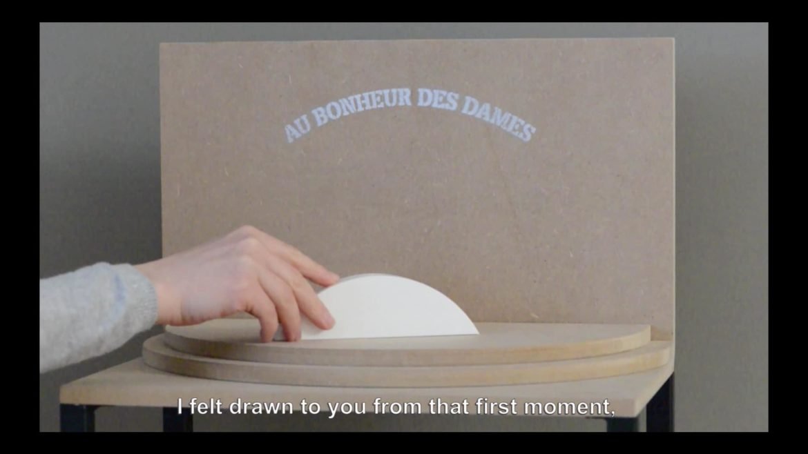 "Marge Monko ""Dear D"", 2015. Video still"