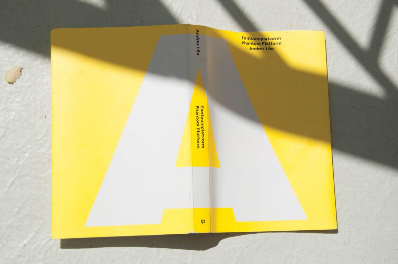 """Book """"Phantom Platform"""" by Andres Lõo"""
