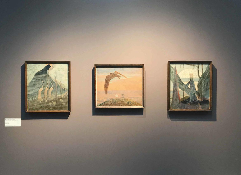 Mikalojus Konstantinas Ciurlionis. Exhibition view