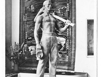 "Sculpture ""Miner"" by Estonian sculptor Voldemar Mellik was awarded the Grand Prix Photo: Museum of Estonian Architecture"